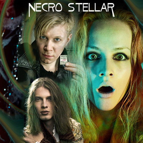 NECRO STELLAR - Space Inversion The Constantly Burning Light