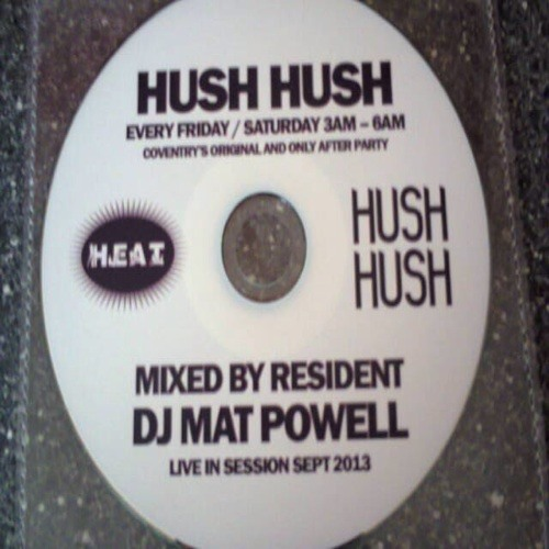 Fri May 10th  2013 Deep House Dj Mat Powell