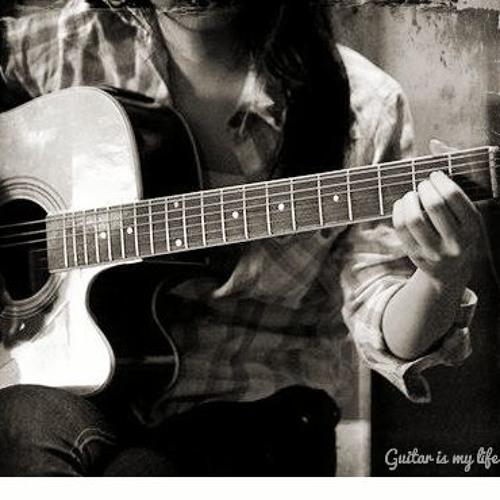 Kebahagiaan hati-  (akustik gitar) Cover