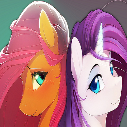 Fluttershy and Rarity's avatar