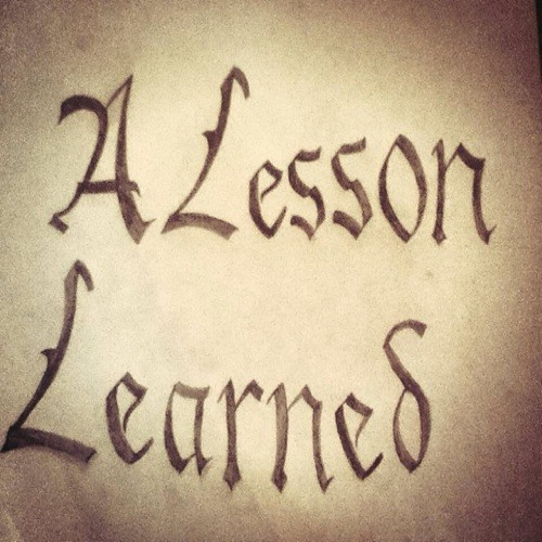 A Lesson Learned's avatar