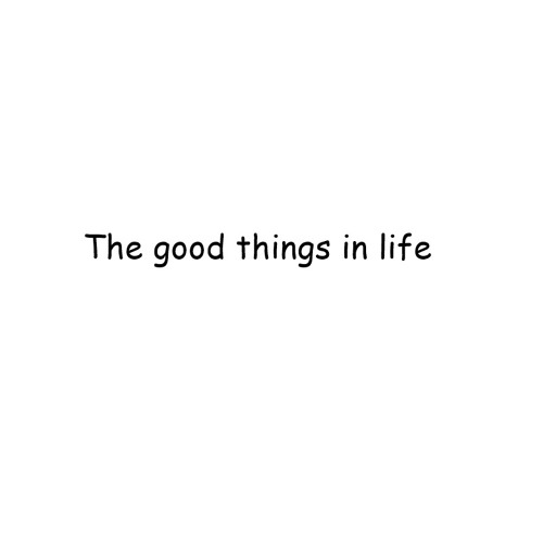 The Good Things In Life's avatar