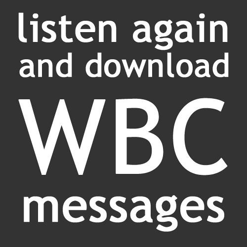 WBC Messages 220418AM - Sam Dunn - Resurrection Joy