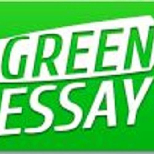 green essays Essay on green technology of knowledge for practical purposes the field of green technology encompasses a continuously evolving group of methods and materials, from techniques for generating energy to non-toxic cleaning products.