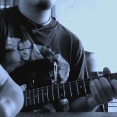Dani and a guitar