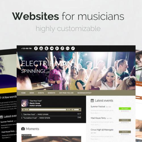 Websites for musicians's avatar