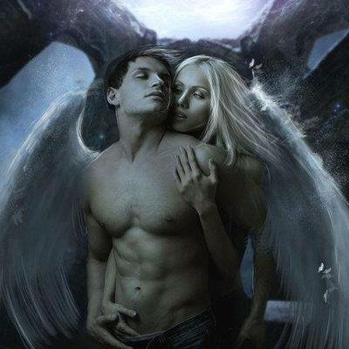 Картинки страсть ангел-мужчина и девушка, девочка