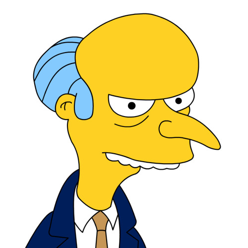 Mr. Burns's avatar