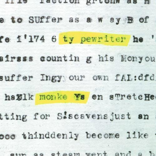 Typewriter Monkeys's avatar