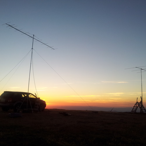 IS0BSR - DK3EE 1319 Km - Field Day Sicilia 50 Mhz