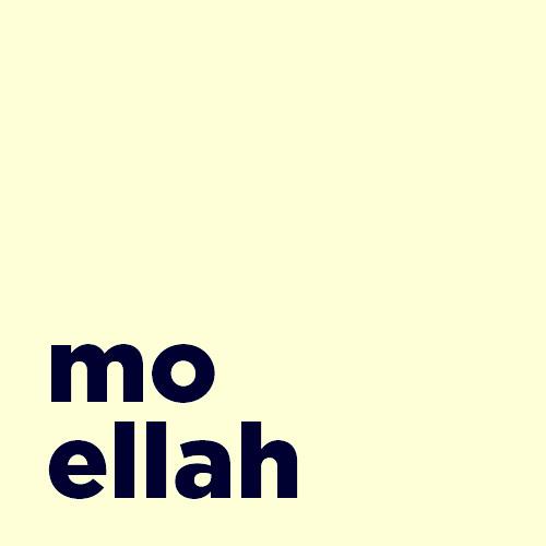 Mo Ellah's avatar
