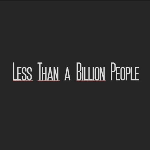 LessThanaBillionPeople's avatar