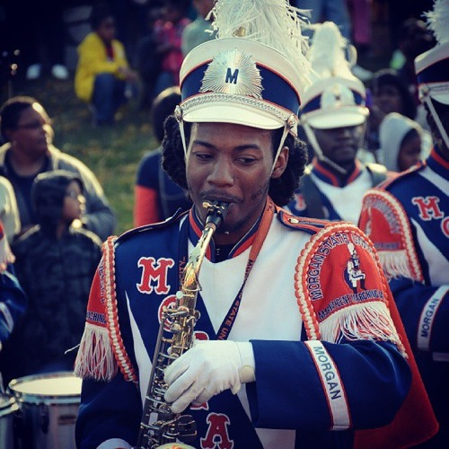 Walter P. Hines High School Marching Band 2012 - Marvin's Room
