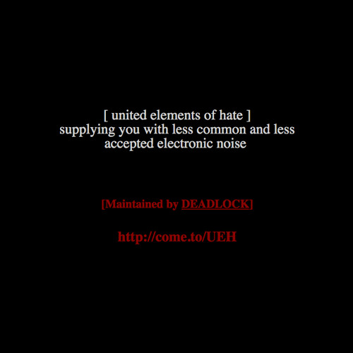 United Elements of Hate's avatar