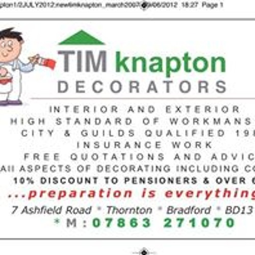 Timothy Knapton's avatar