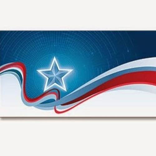 Открытка в виде флага