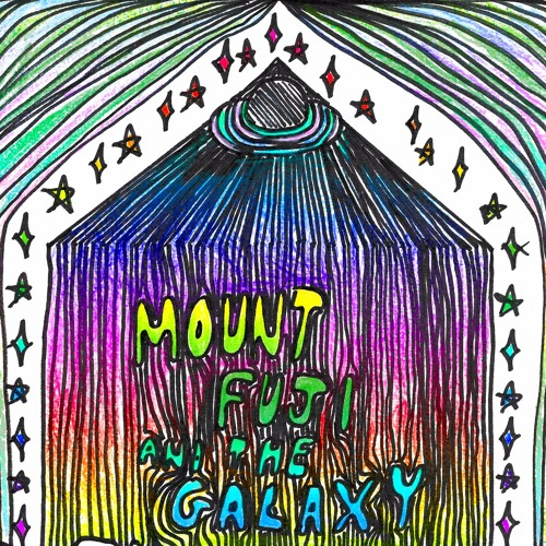 mount fuji and the galaxy's avatar