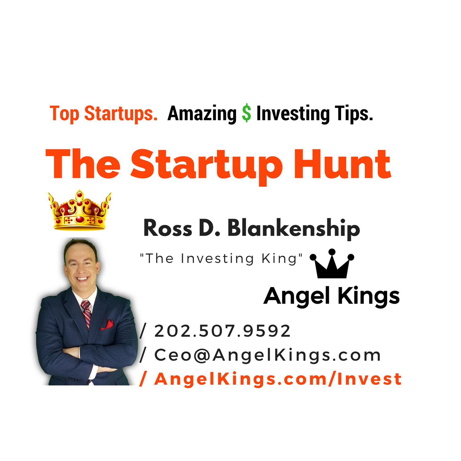 The Startup Hunt - How to Find and Invest in the Next Billion Dollar Startups