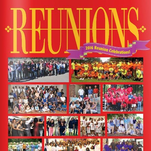 How to create a reunion ad book