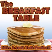 The Breakfast Table Podcast: Week 5 NFL Fantasy Preview (10/3/17)