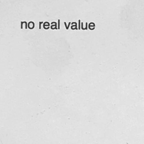 No Real Value's avatar