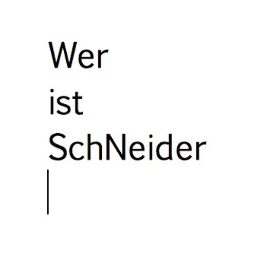 Wer ist SchNeider's avatar