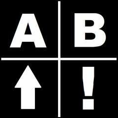 A,  B, Up, Start!
