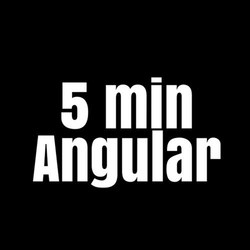 Пятиминутка Angular's avatar