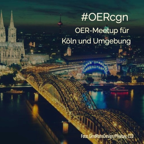 #OERcgn 004: nOERd news vom OERcgn-Meetup #8 (5. Februar 2018)