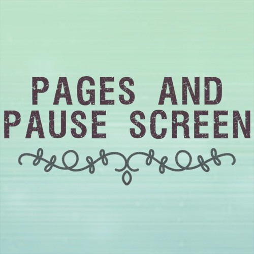 Pages and Pause Screen Podcast | Free Listening on SoundCloud