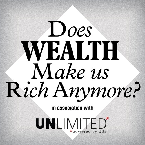 Does wealth make us rich anymore?'s avatar