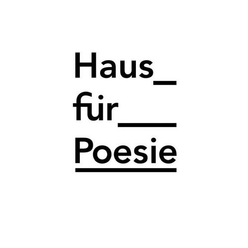 Logo: Haus für Poesie