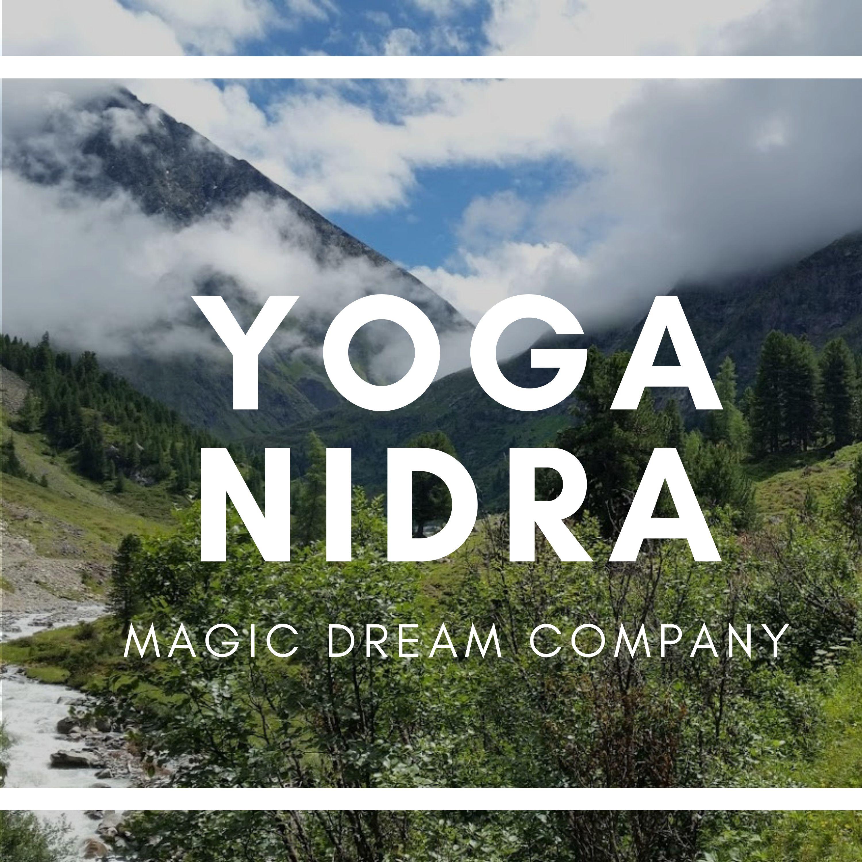 Yoga nidra  Nederlands gesproken logo