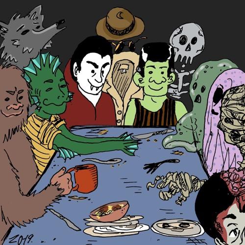 Dracula and his band the Draculas