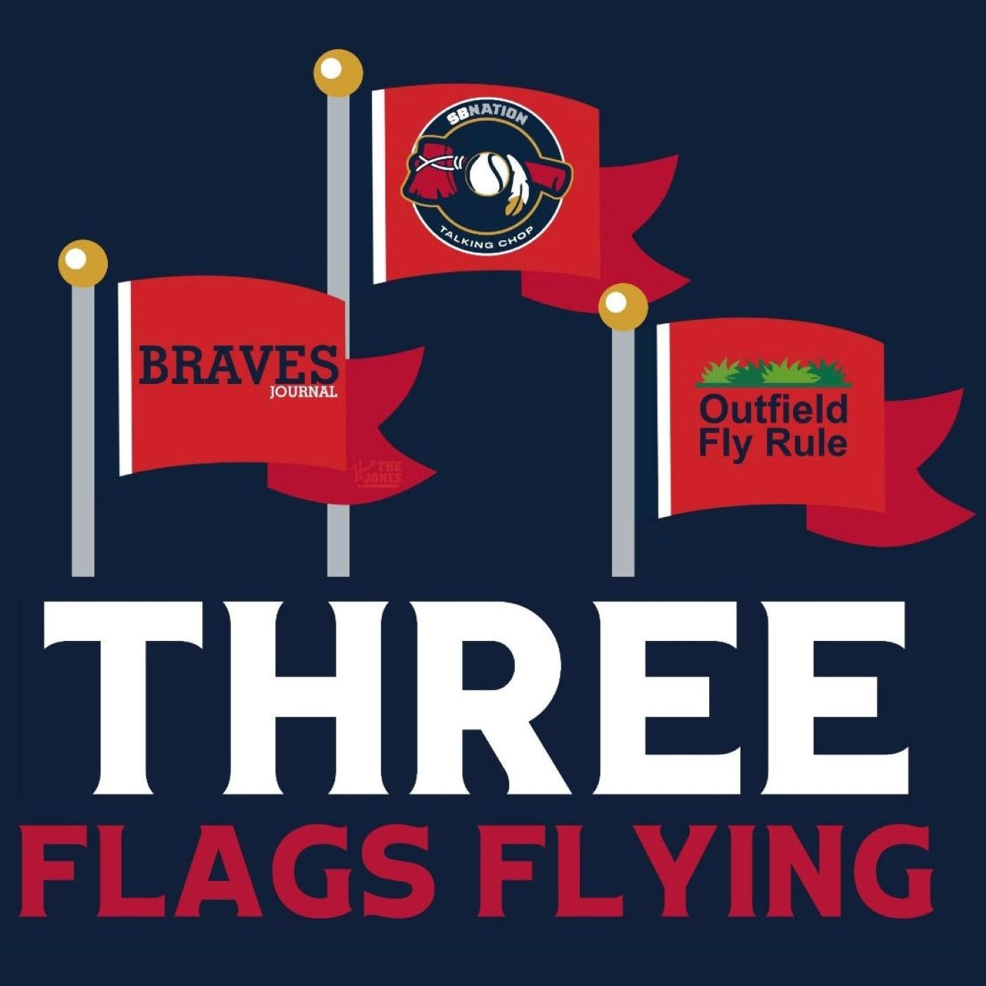 Three Flags Flying podcast show image