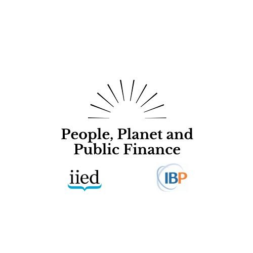 People, Planet and Public Finance's avatar