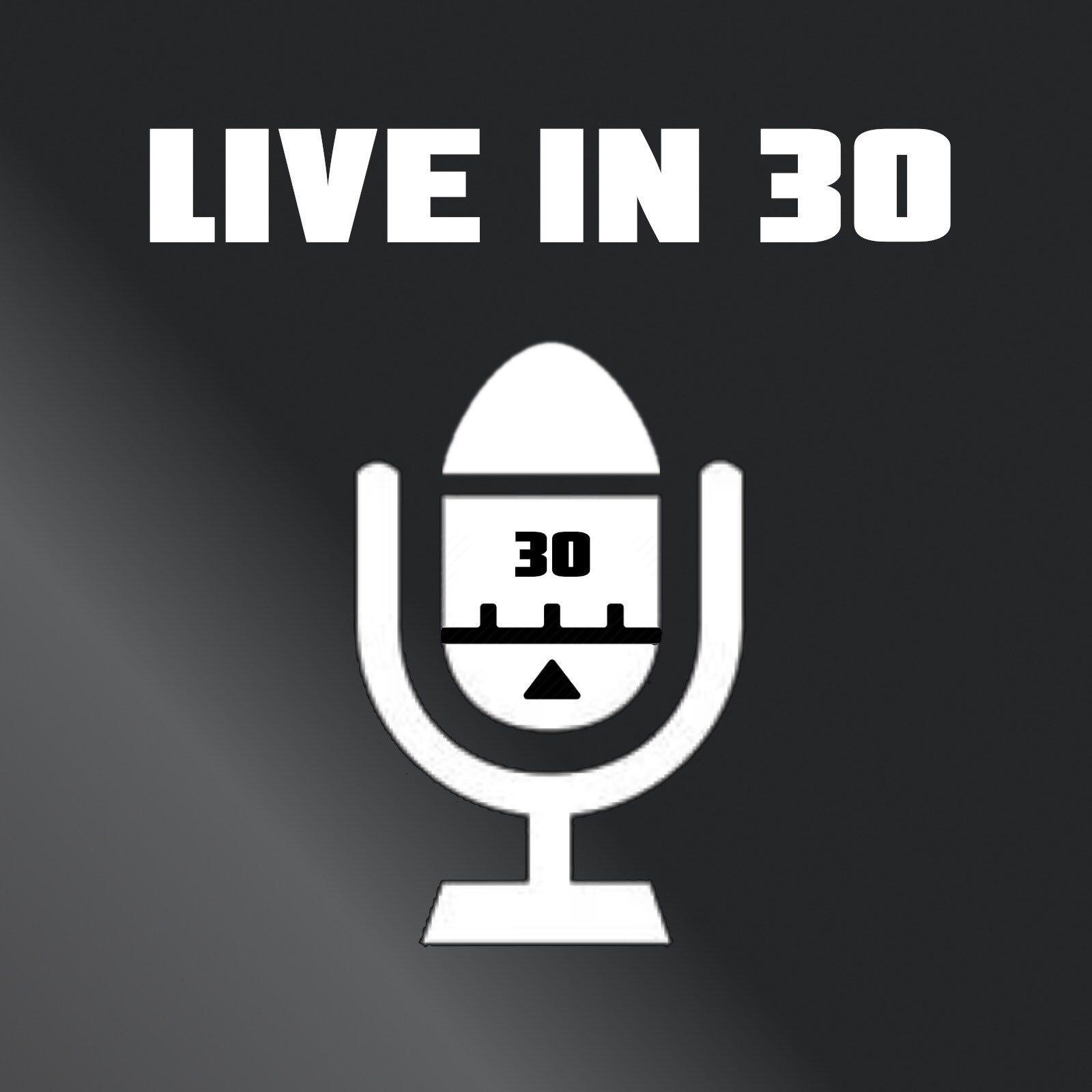 Live In 30 logo