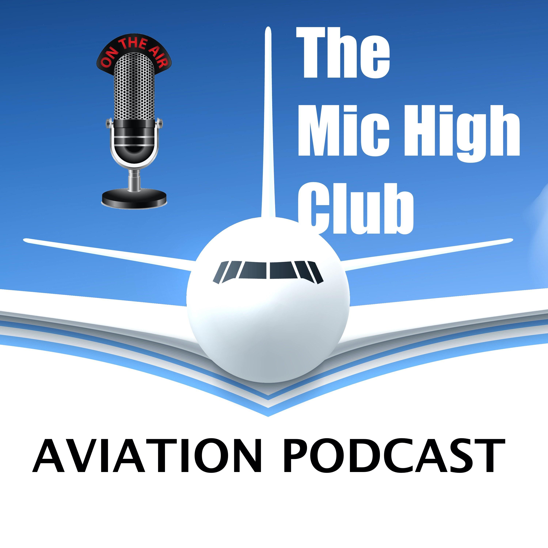 The Mic High Club Luchtvaart Podcast logo