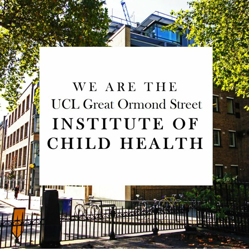 UCL GOS Institute of Child Health Podcast's avatar