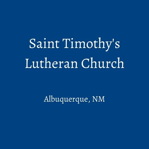 St Tim's ABQ's avatar
