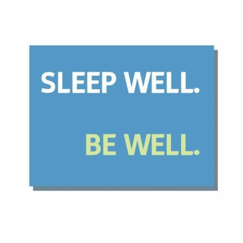 Sleep Well Be Well's stream