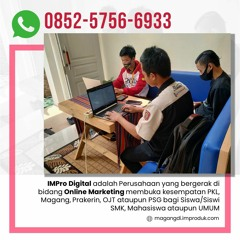 WA: 0852-5756-6933, Tempat Prakerin SMK Jurusan IT di Malang