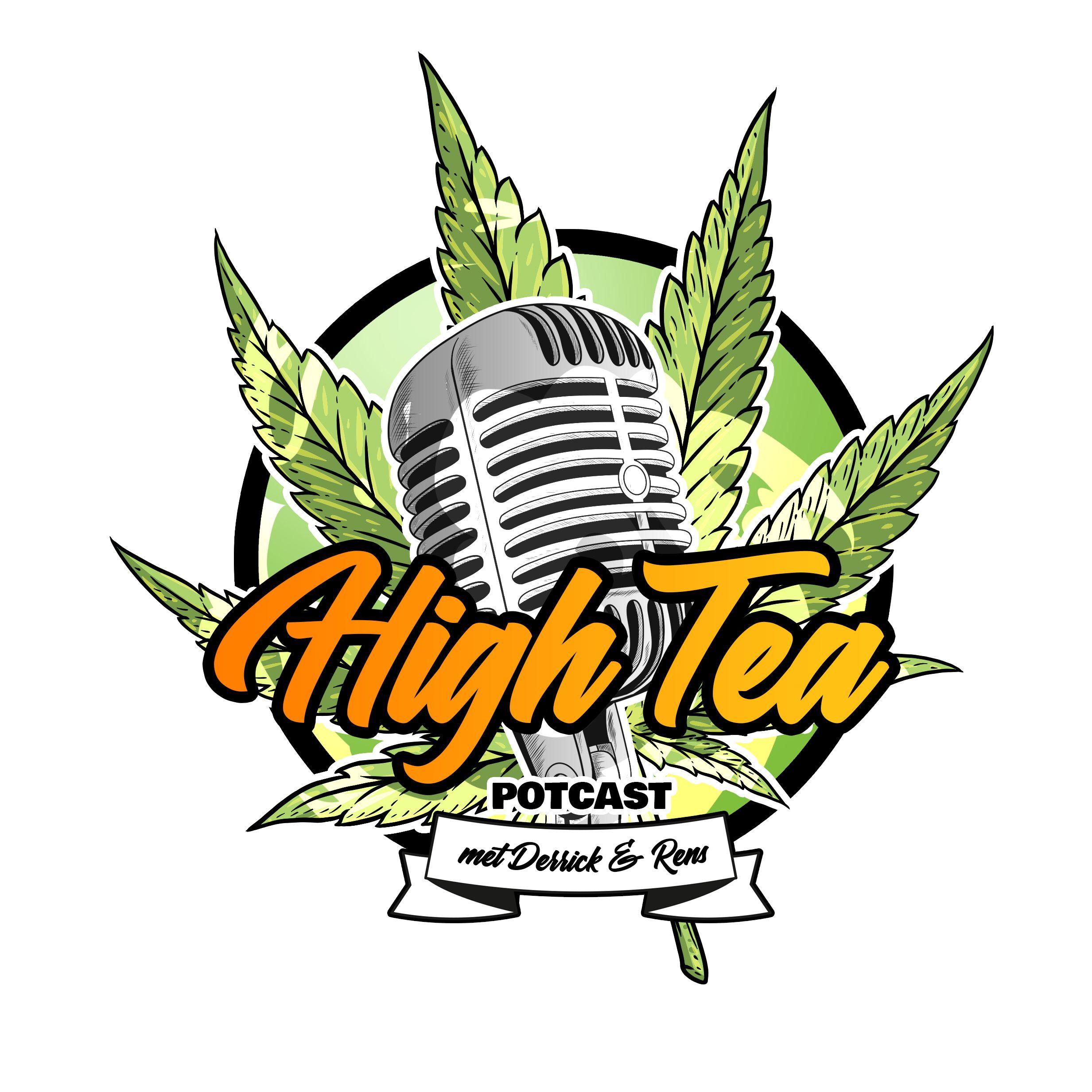 High Tea Potcast logo