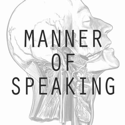 Manner of Speaking's avatar