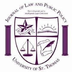 St. Thomas Journal of Law and Public Policy