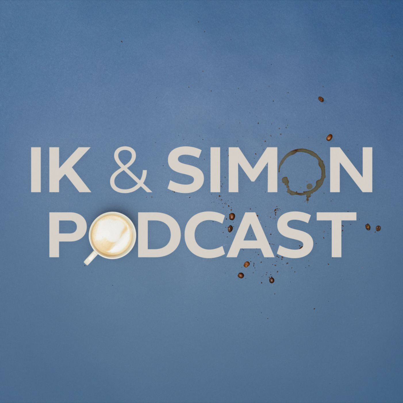 Ik & Simon Podcast logo