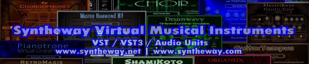 X Files Theme (Mark Snow) Syntheway Realistic Virtual Piano, Magnus