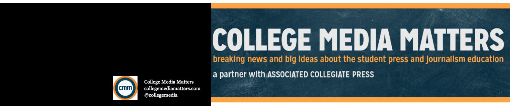 ... College Media Matters Facebook page. —. —. —