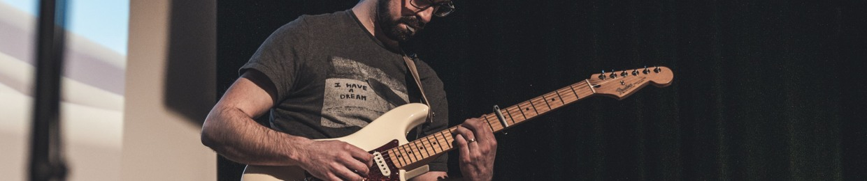 La guitare à Sylvain